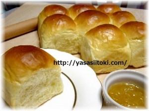 ちぎりパン ジャムを添えて